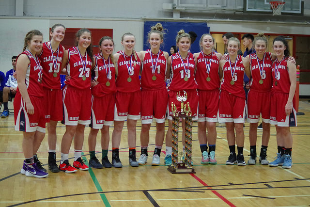 A solid weekend of play results in our sr girls winning the police tourney this year. Knocking off Brentwood and southridge (Surrey top 10 AA school) en route final led to a hard fought victory over Ballenas 64-57 in final. Congrats to all girls for their hard work and to Lauren Montgomery Stinson and Sierra Reisig for first team all star awards.