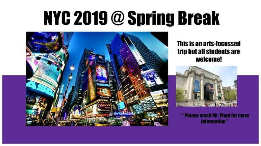 NYC Spring Break