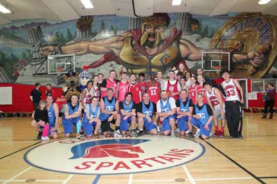 Spartans and Saanich Police