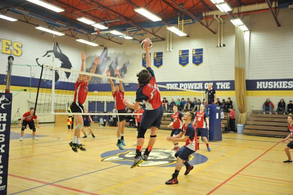 Sr. Boys Volleyball