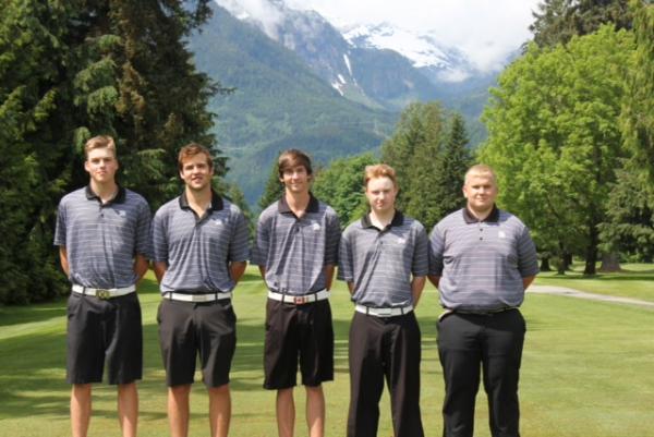 Golf Team at Provincials