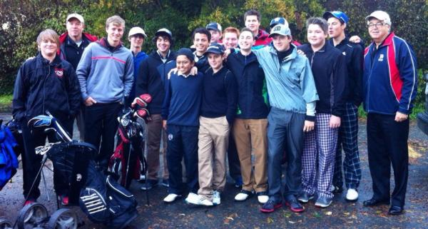 Golfers on James Island