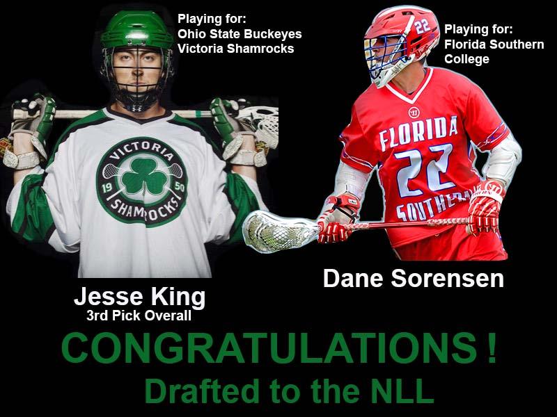 Jesse King and Dane Sorensen